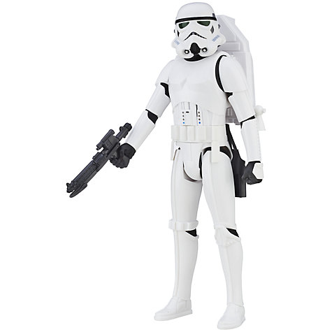 Buy Star Wars Rogue One Interactive Stormtrooper Action Figure Online at johnlewis.com