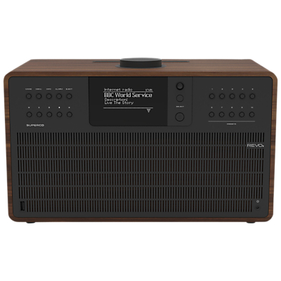 Image of Revo SuperCD DAB+/FM & Internet Radio All-In-One Music System with Wi-Fi, Bluetooth & Spotify Connect
