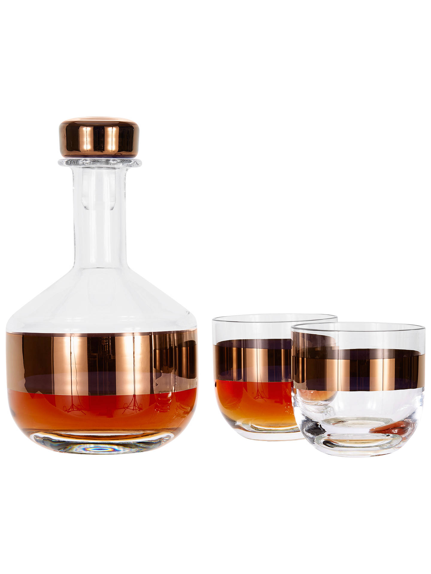Buy Tom Dixon Tank Whiskey Decanter Online at johnlewis.com