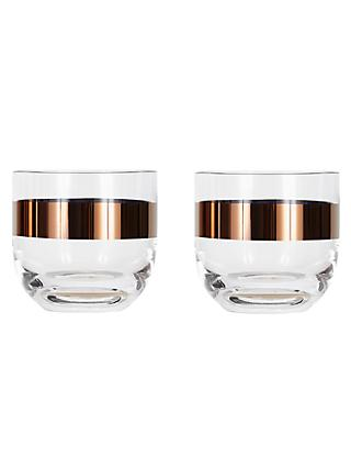 Tom Dixon Tank Whiskey Glass, Set of 2