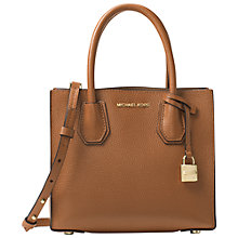 Buy MICHAEL Michael Kors Mercer Leather Cross Body Bag Online at johnlewis.com