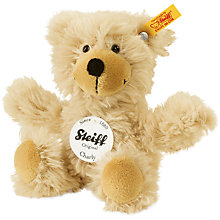 Buy Steiff Charly Teddy Bear, Brown, 16cm Online at johnlewis.com
