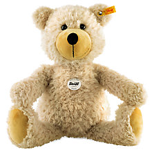 Buy Steiff Charly Dangling Legs Teddy Bear, Beige, 40cm Online at johnlewis.com