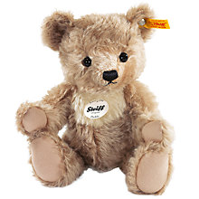 Buy Steiff Paddy Teddy Bear, Brown/Cream, 28cm Online at johnlewis.com