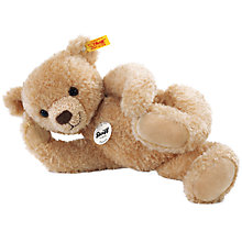 Buy Steiff Hannes Teddy Bear, Beige, 32cm Online at johnlewis.com