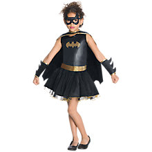 Buy Batgirl Dress Up Costume, 5-6 years Online at johnlewis.com