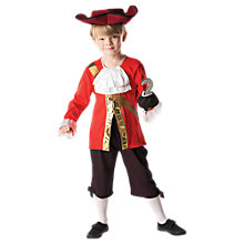 Buy Captain Hook Children's Costume, 5-6 years Online at johnlewis.com