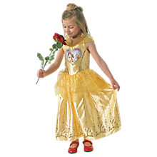 Buy Disney Princess Loveheart Belle Beauty And The Beast Costume, 5-6 years Online at johnlewis.com