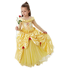 Buy Disney Princess Premium Belle Beauty And The Beast Costume, 5-6 years Online at johnlewis.com