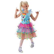 Buy My Little Pony Rainbow Dash Deluxe Dress, 5-6 years Online at johnlewis.com