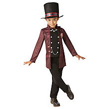 Buy Willy Wonka Children's Costume, 5-6 years Online at johnlewis.com