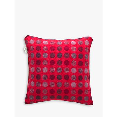 Melin Tregwynt Mondo Cushion, Red