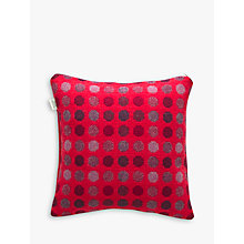 Buy Melin Tregwynt Mondo Cushion, Red Online at johnlewis.com