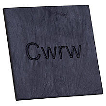 Buy Grasi Engraved Cwrw Coaster Online at johnlewis.com