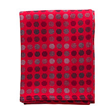 Buy Melin Tregwynt Mondo Throw, Red Online at johnlewis.com