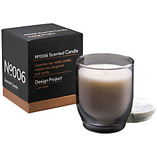 Buy Design Project by John Lewis No.006 Warm Oak Candle Online at johnlewis.com