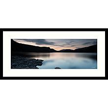 Buy James Bell- Thirlmere Framed Print, 49 x 104cm Online at johnlewis.com
