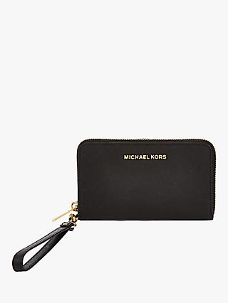 MICHAEL Michael Kors Jet Set Leather Travel iPhone 6 Case Purse