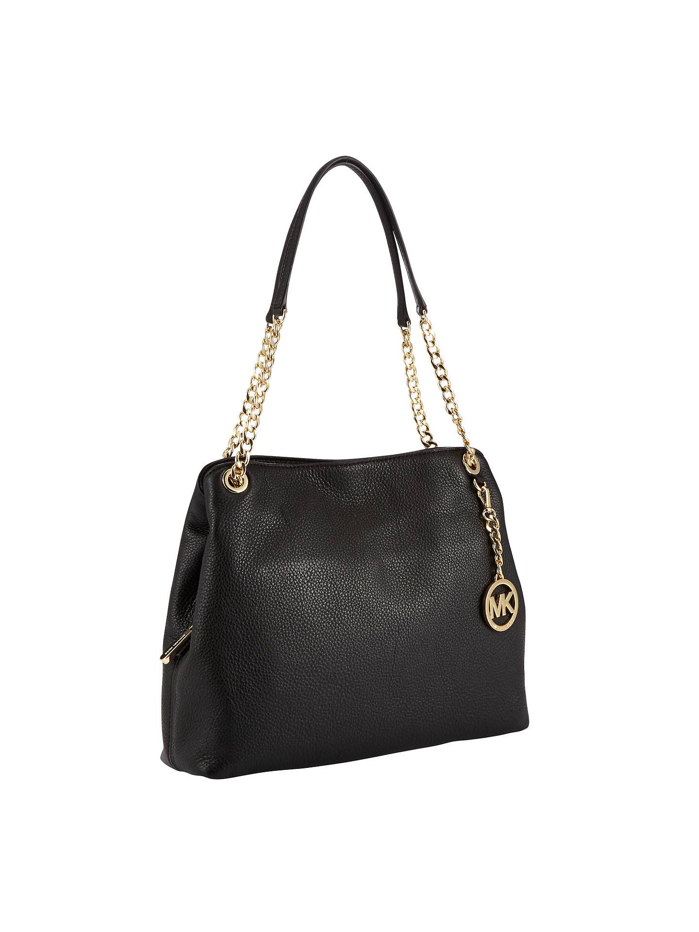 1a17e6dc87f4 ... Buy MICHAEL Michael Kors Jet Set Travel Leather Chain Strap Large  Shoulder Bag