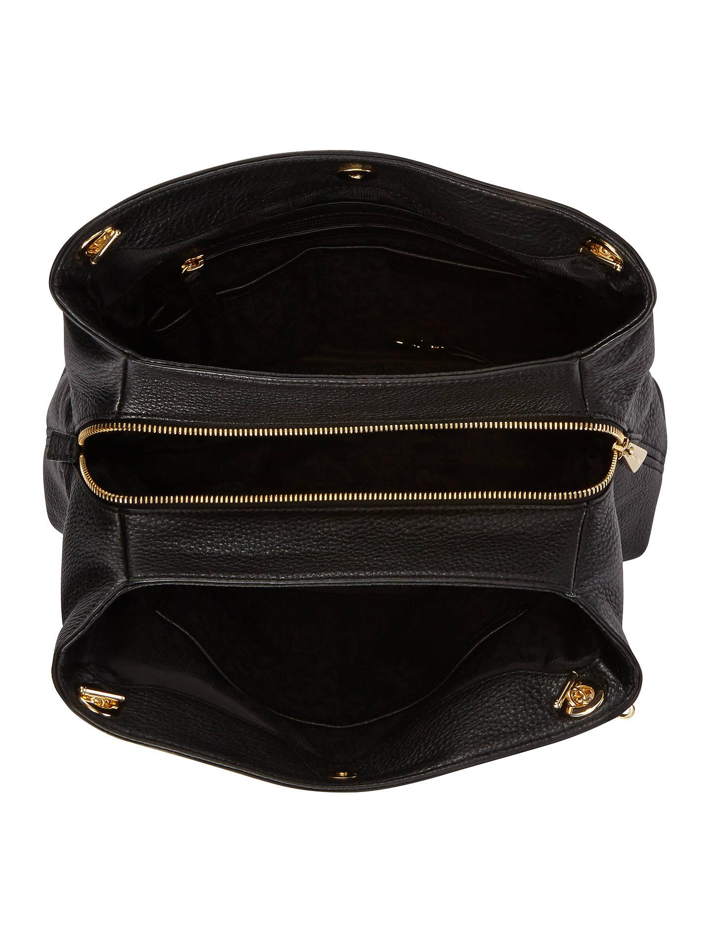 dcce118a4e1d ... Buy MICHAEL Michael Kors Jet Set Travel Leather Chain Strap Large  Shoulder Bag