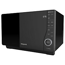 Buy Hotpoint MWH2621MB Freestanding Microwave, Black Online at johnlewis.com