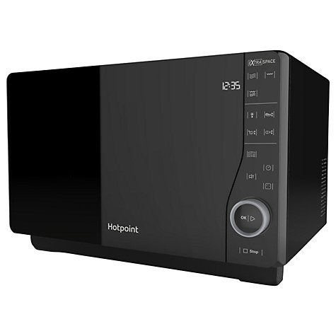 Hotpoint Mwh2621mb Freestanding Microwave Black Online At Johnlewis