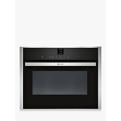 Image of Neff C17UR02N0B Built In Microwave Oven in Stainless Steel