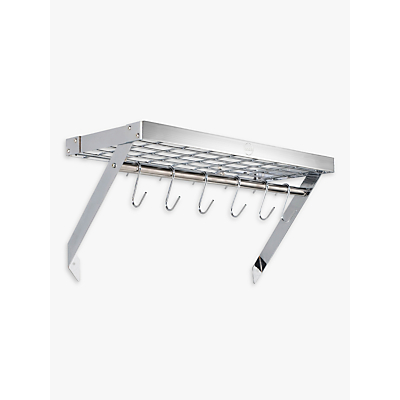 Hahn Premium Wall Pan Rack, Chrome