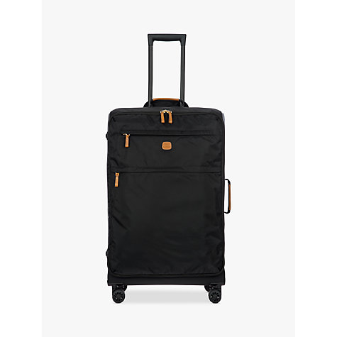 Buy Bric's X Travel 77cm 4-Wheel Large Suitcase, Black | John Lewis