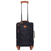 Buy Bric's X Travel 55cm Cabin Case, Blue Online at johnlewis.com