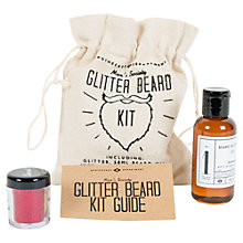 Buy Men's Society Glitter Beard Kit Online at johnlewis.com