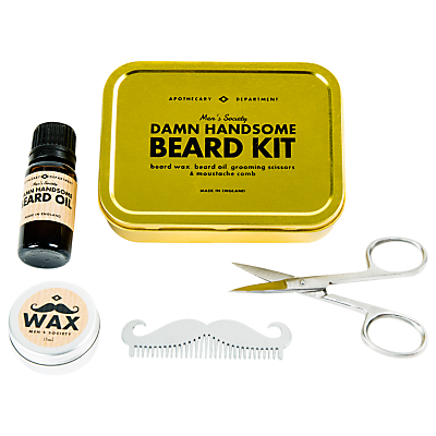 Image of Men's Society Beard Grooming Kit