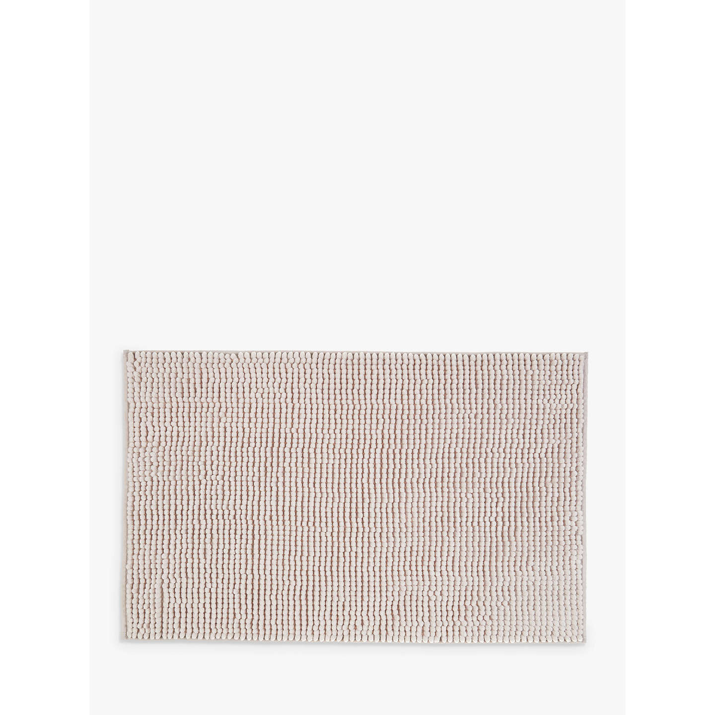 Buyjohn Lewis Chenille Bobble Bath Mat, Silver Grey Online At