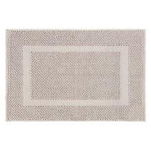Buy John Lewis Textured Boucle Bath Mat, Pearl Grey Online at johnlewis.com