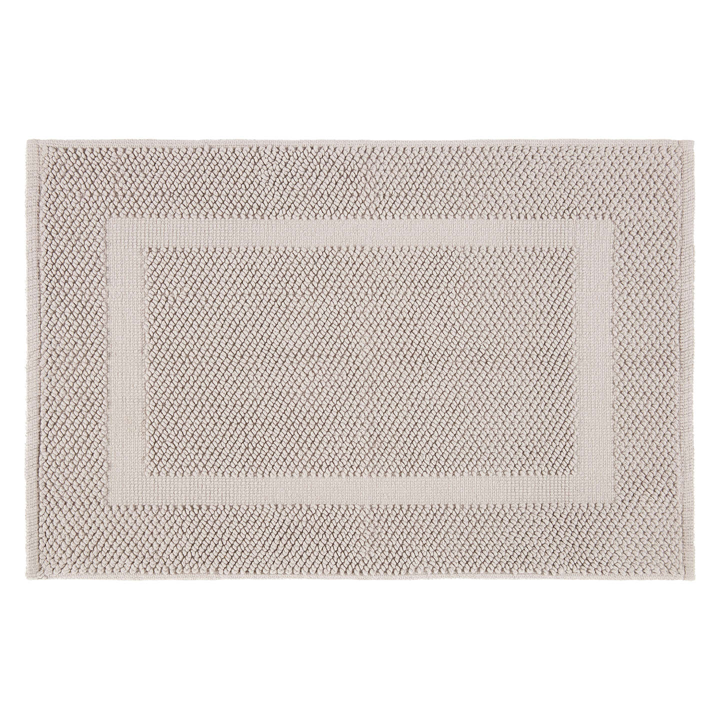 Buyjohn Lewis Textured Boucle Bath Mat, Pearl Grey Online At
