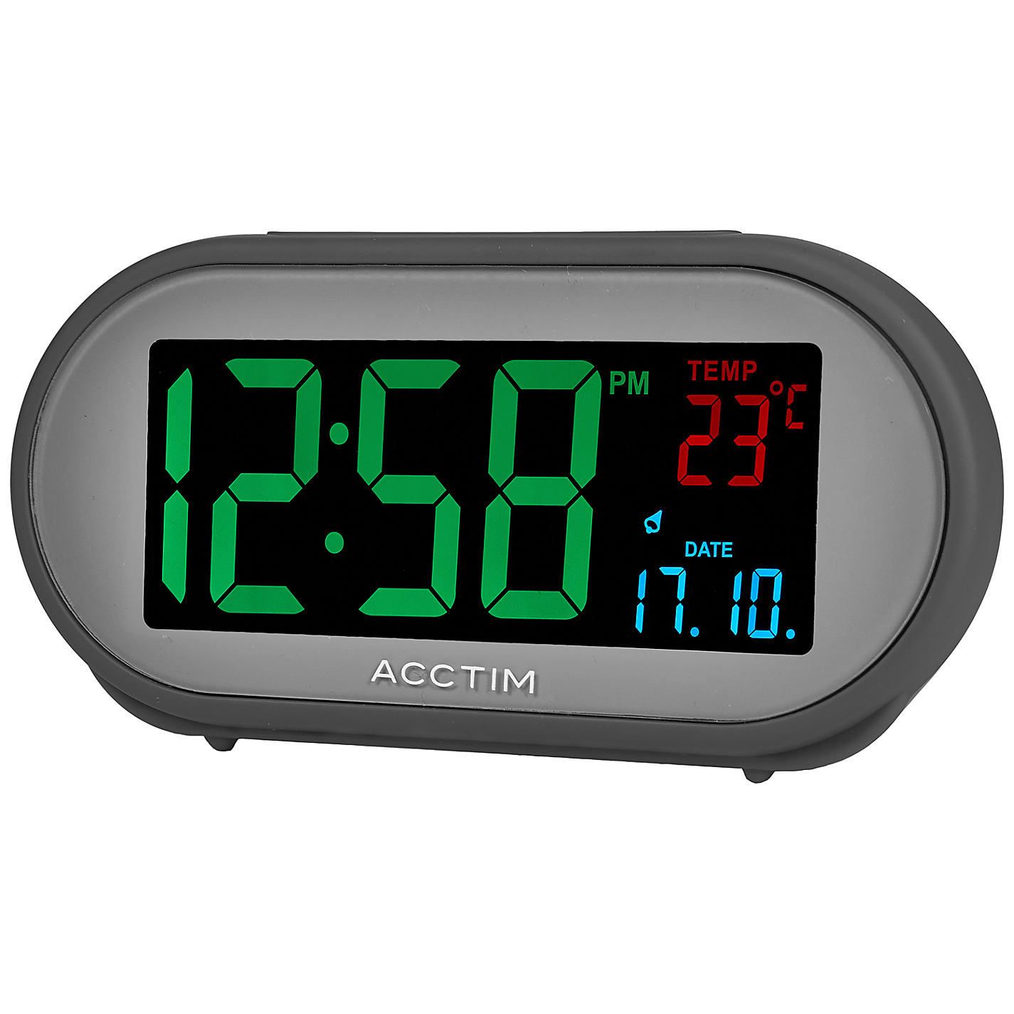 lcd alarm clocks unique alarm clock. Black Bedroom Furniture Sets. Home Design Ideas