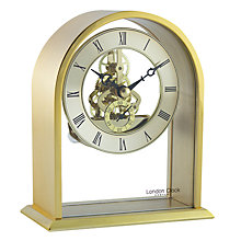 Buy London Clock Company Archtop Skeleton Mantel Clock Online at johnlewis.com
