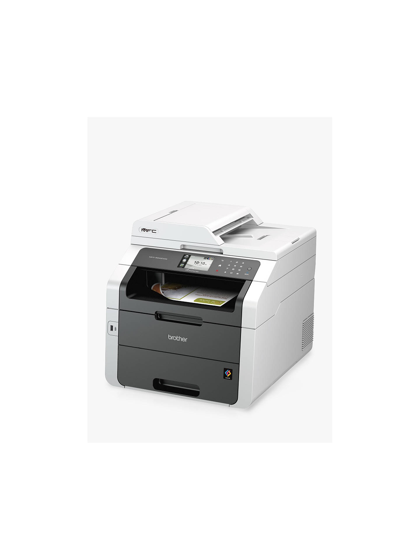 BuyBrother MFC-9330CDW Colour Laser All-in-One Printer with Duplex, Fax, Network and Wi-Fi Online at johnlewis.com