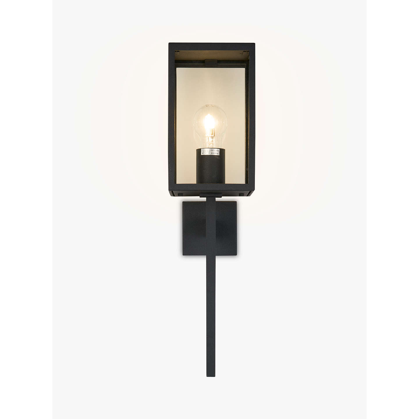 Astro coach lantern 130 outdoor light black at john lewis buyastro coach lantern 130 outdoor light black online at johnlewis mozeypictures Image collections