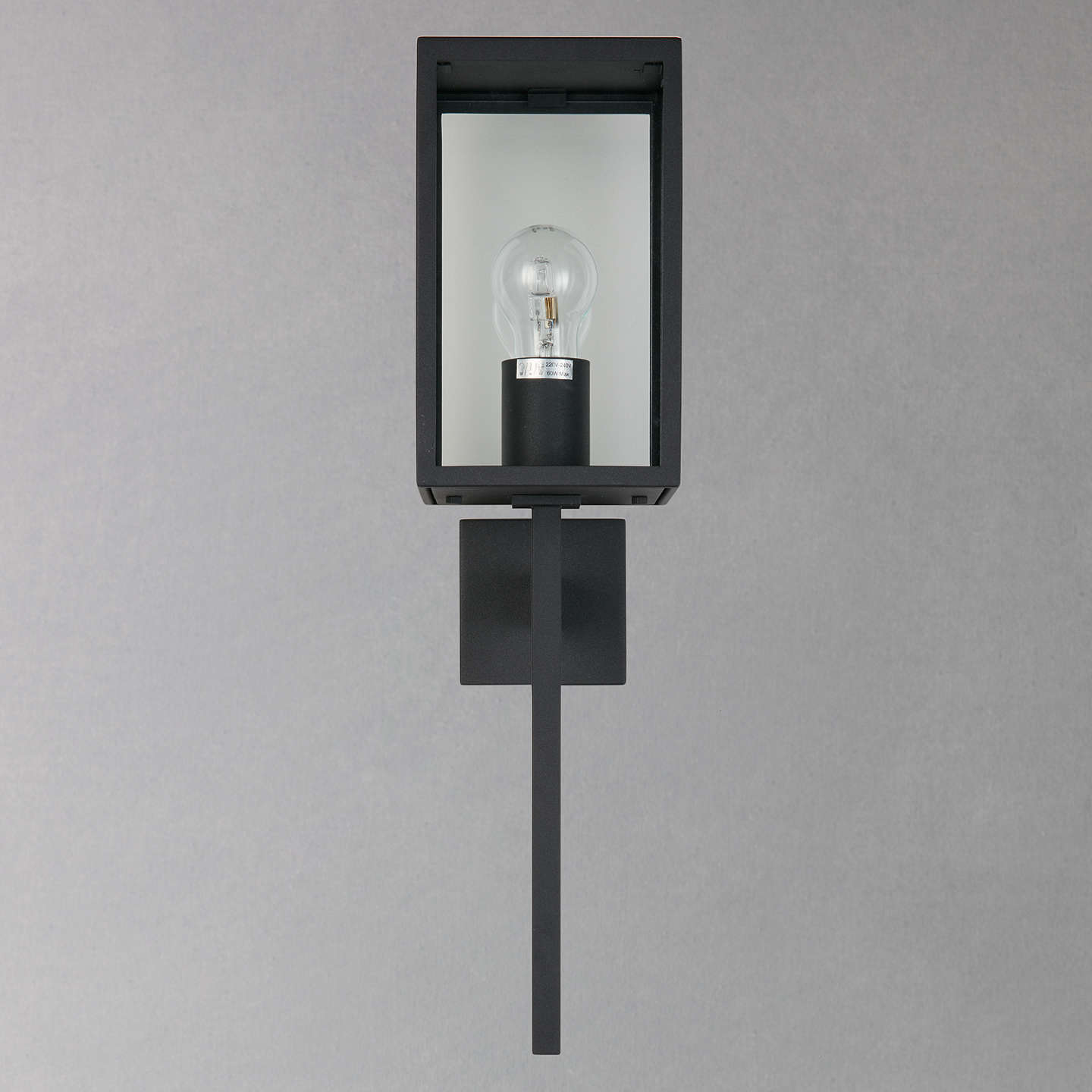 Astro coach lantern 130 outdoor light black at john lewis buyastro coach lantern 130 outdoor light black online at johnlewis aloadofball Image collections
