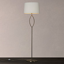 Buy John Lewis Lopez Floor Lamp, Satin Nickel Online at johnlewis.com