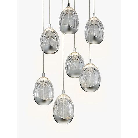 Buy John Lewis Droplet LED Pendant Ceiling Light 7 Light