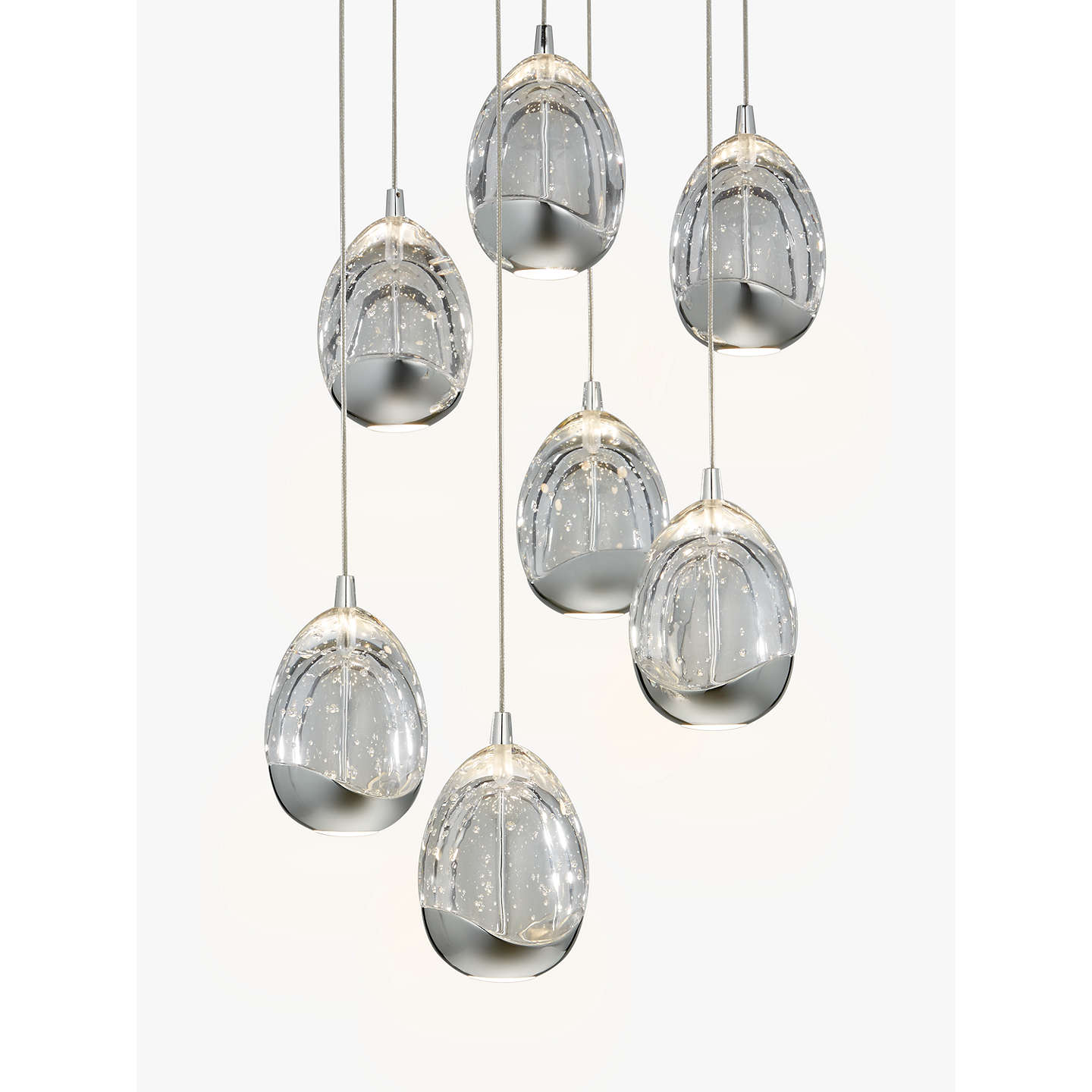 John lewis droplet led pendant ceiling light 7 light chrome at buyjohn lewis droplet led pendant ceiling light 7 light chrome online at johnlewis mozeypictures