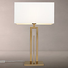 Buy John Lewis Amari Table Lamp, Brass Online at johnlewis.com