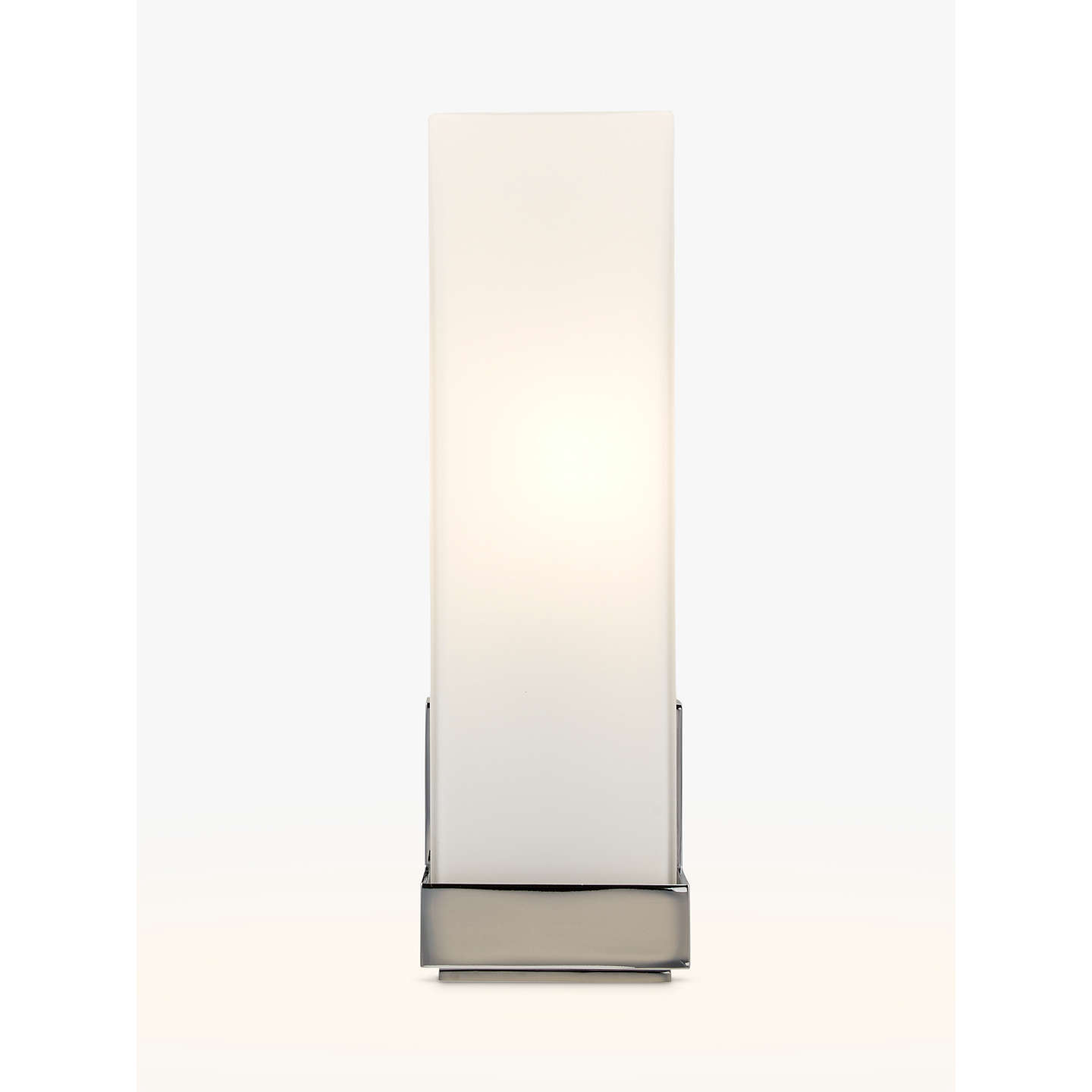 Astro taketa bathroom wall light whitechrome at john lewis buyastro taketa bathroom wall light whitechrome online at johnlewis aloadofball Choice Image