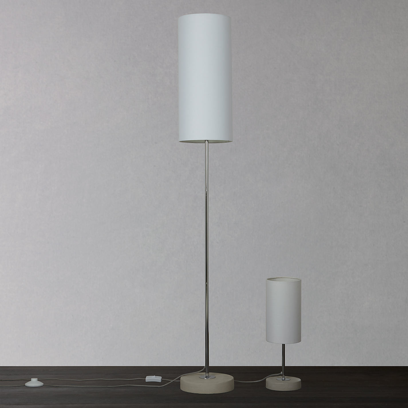 Buy house by john lewis vivian duo floor and table lamp white buy house by john lewis vivian duo floor and table lamp white online at johnlewis geotapseo Image collections