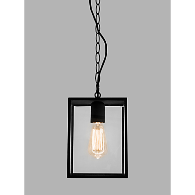 ASTRO Homefield Outdoor Pendant Ceiling Light, Black