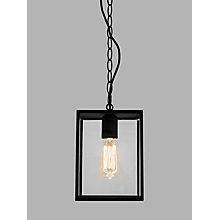 Buy ASTRO Homefield Outdoor Pendant Ceiling Light, Black Online at johnlewis.com