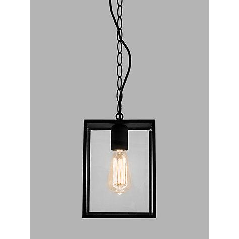 Buy Astro Homefield Outdoor Pendant Ceiling Light Black