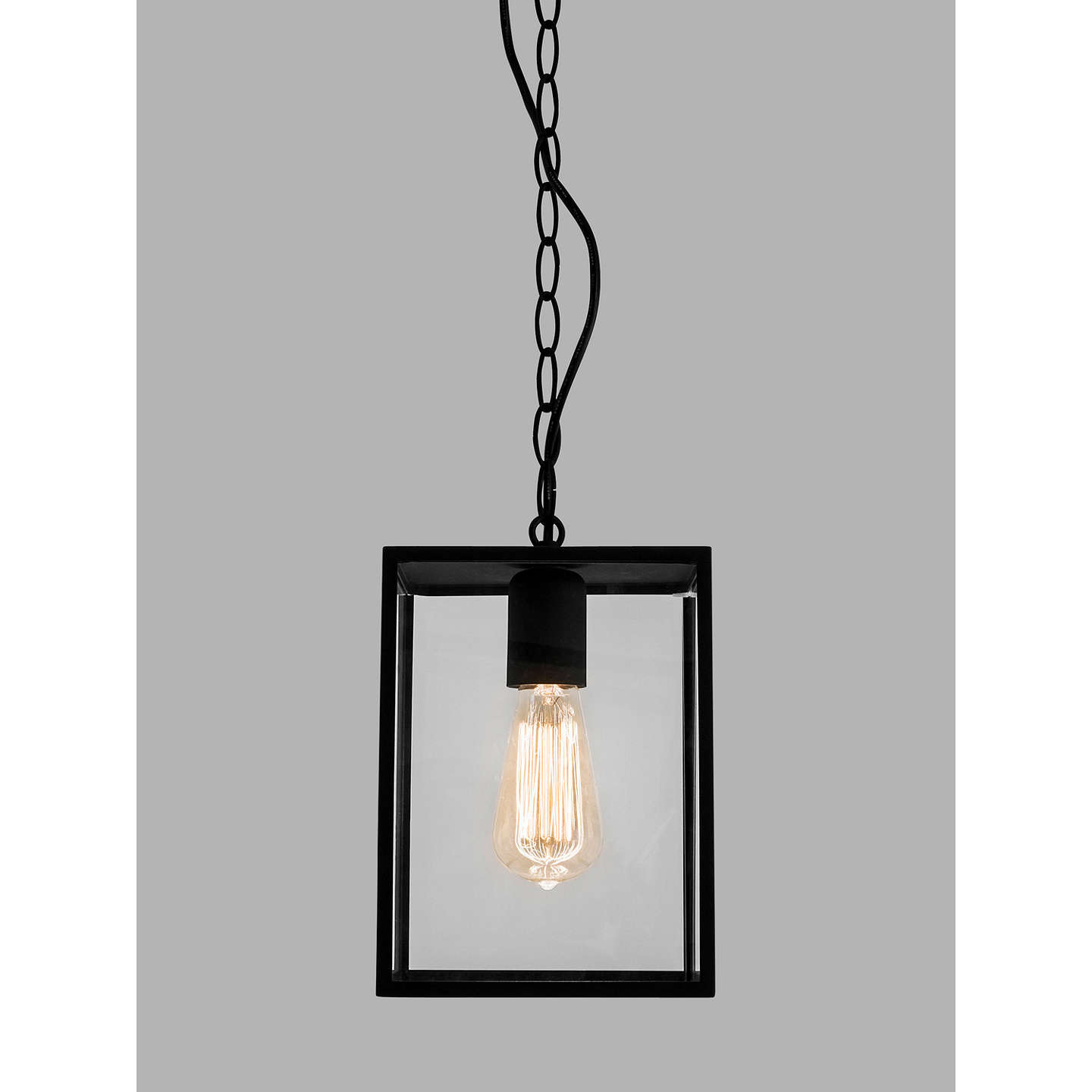atelier pendant black painted